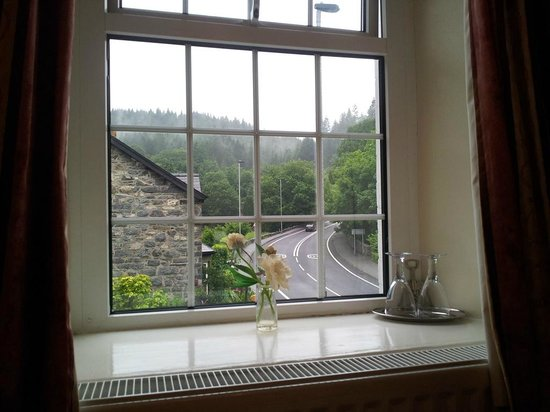 Oakfield House B & B: Side window's view