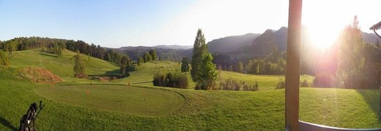 Dunkeld and Birnam Golf Club: View from clubhouse terrace