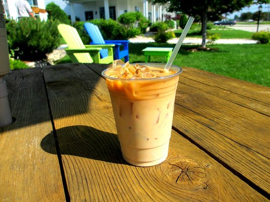 Door County Coffee and Tea Co.: Iced Door County Coffee on a hot summer day!