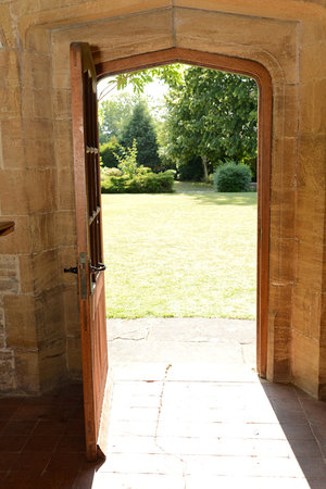 Charney Manor : View from from the front door