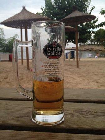 Bamboo Beach: Estrella Galicia on tap!!