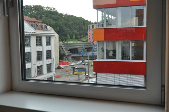 Ibis Praha Mala Strana: view from the window,widok z okna