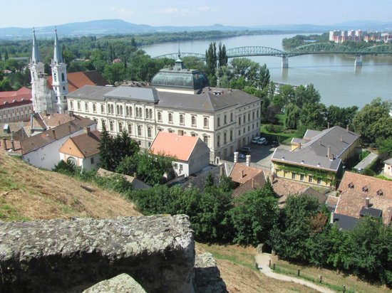 Esztergom Basilica / Cathedral: View from Cathedral