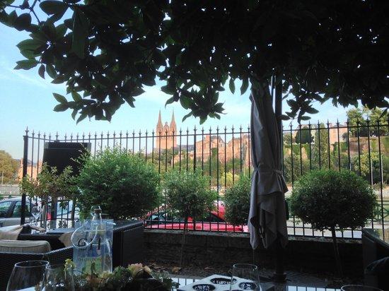 Le favre d'Anne -Loft Culinaire : Vue sur le château