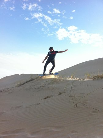 Sunday's River Adventures: A little jump on great dunes!