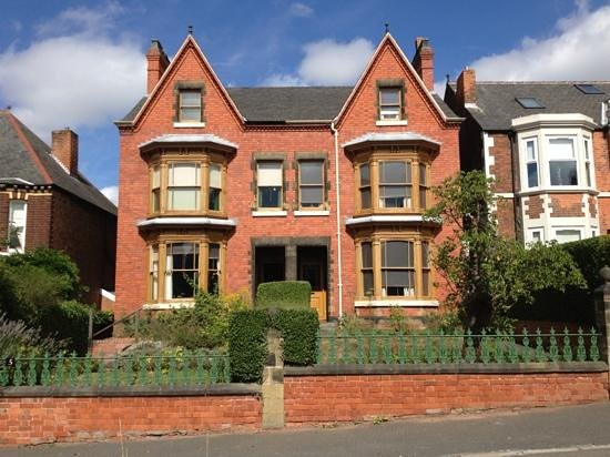No.5 is Reception (left), No.7 is Mr Straw's House (right)
