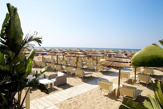 Lido Marini, Italy: Zona Franca Lounge Beach