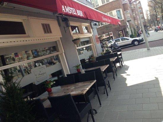 Terrazza Libero Picture Of Libero Amsterdam Tripadvisor