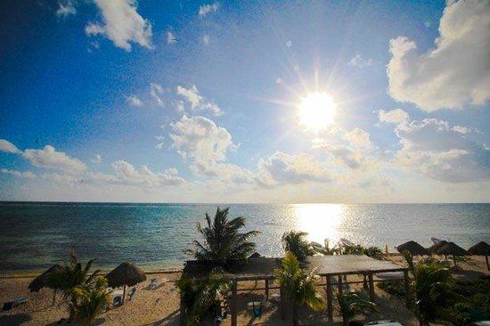 Hotel Costa Maya Inn : Amanecer en mahahual