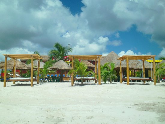 Hotel Costa Maya Inn: SR FROGS BEACH CLUB