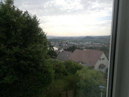 Marston Lodge Hotel: Utsikten från vårt rum