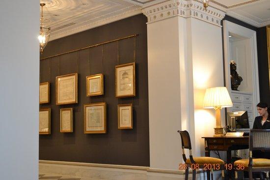 The Jefferson, Washington DC : Reception area
