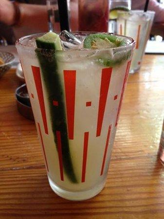 Border Grill : cucumber jalapeño margarita