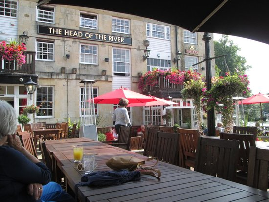 The Head of the River : outside