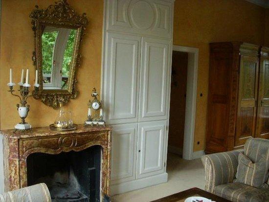 Kronenschlösschen Hotel & Restaurant: Living room
