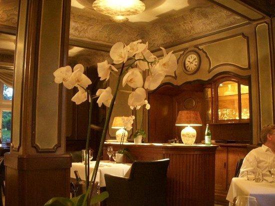 Kronenschlösschen Hotel & Restaurant: Dining room