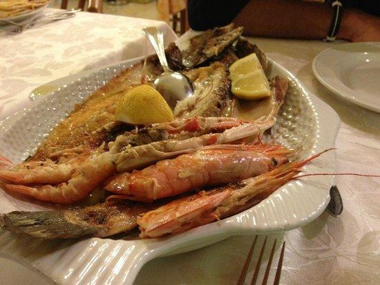 Hotel Italia: Grigliata di pesce