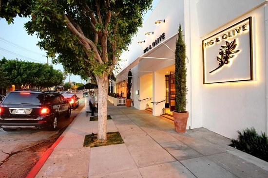 Photo of Mediterranean Restaurant Fig & Olive Melrose Place at 8490 Melrose Pl, West Hollywood, CA 90069, United States