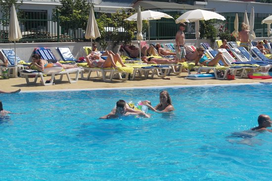 Pool picture of aqua nevis clubhotel sunny beach - Sunny beach pools ...
