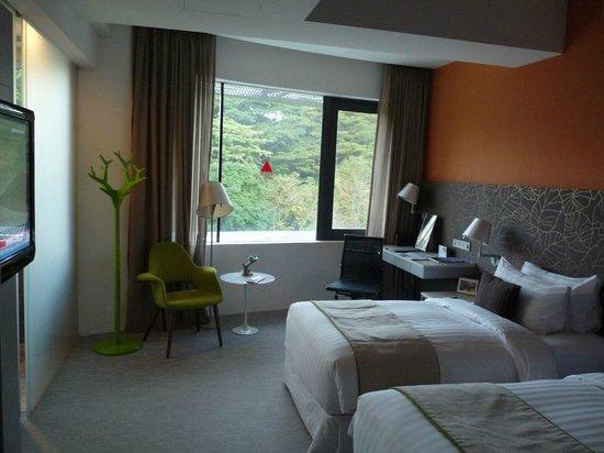 Wangz Hotel: Zimmeransicht