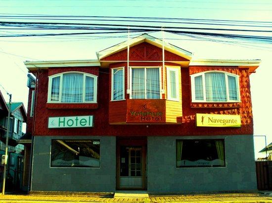 Hotel Yatehue: Frontis