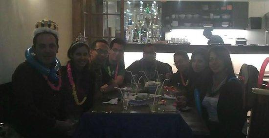 Fuego, Burgers and Barbecue Restaurant: Buena cena de cumpleaños