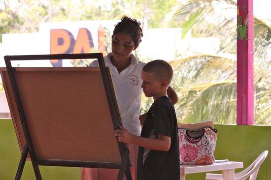 San Juan del Sur Spanish School - Day Classes: A 1:1 lesson in the school