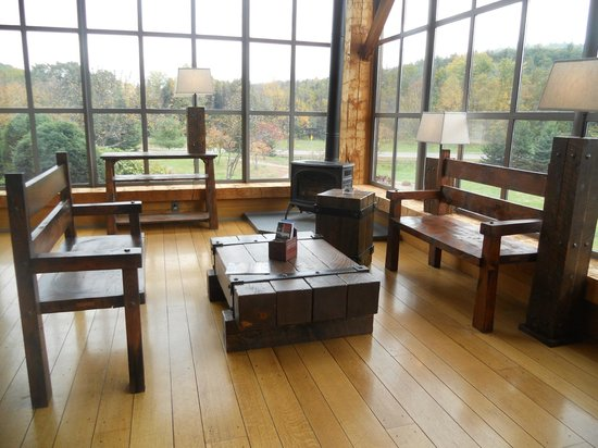 Guilford Welcome Center: Indoors