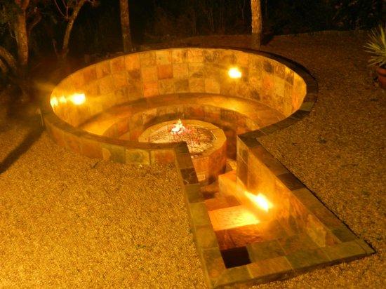 Addo Afrique Estate: Braai pit