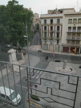 Hotel Rambla: View from our room