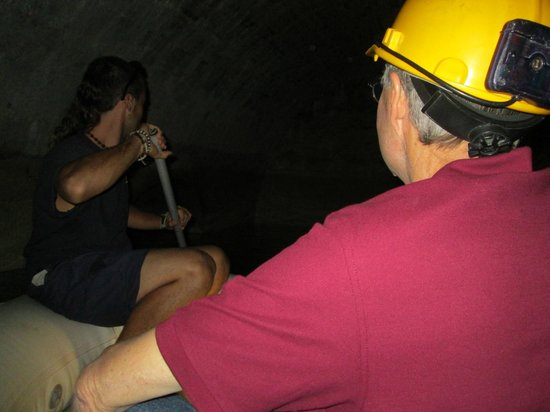Hotel Rambla: Boat Tour inside Cistern