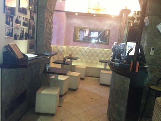 Caffe Maxim: l'interno