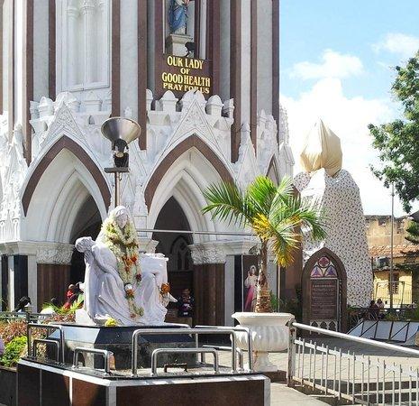 St. Mary's Basilica: Church entrance