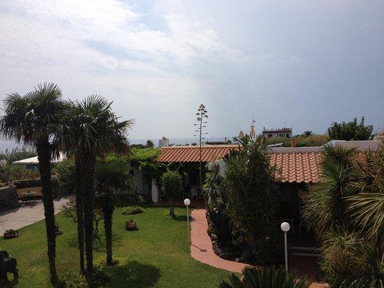 Hotel Corona: Vista dalla stanza