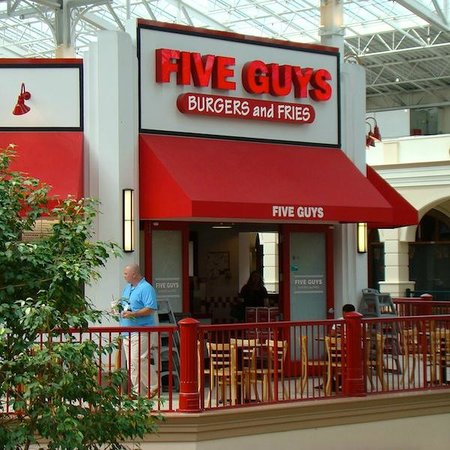 Five guys in columbus ga
