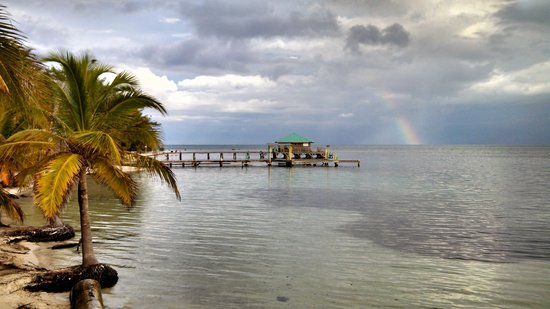 Isla Marisol Resort: Rainbow after a Summer Shower
