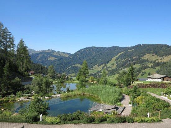 Übergossene Alm Resort : Der Ausblick - ein Traum.