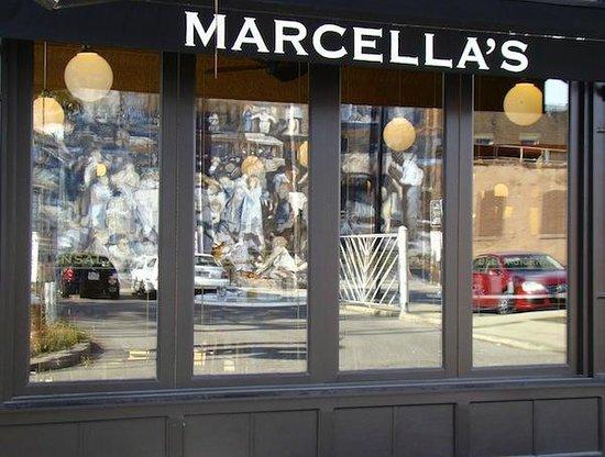 Marcella's: Exterior of restaurant
