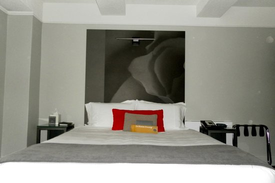 Paramount Hotel Times Square New York: Bedroom