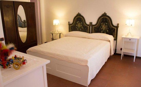 B&B Villa Accademia: Suite Verdi - camera da letto