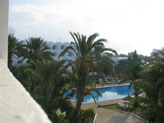 Palm Beach Club Hammamet : Панораму сделать не получилось, поэтому так)
