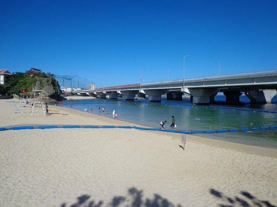 Naminoue Beach: 波の上ビーチ