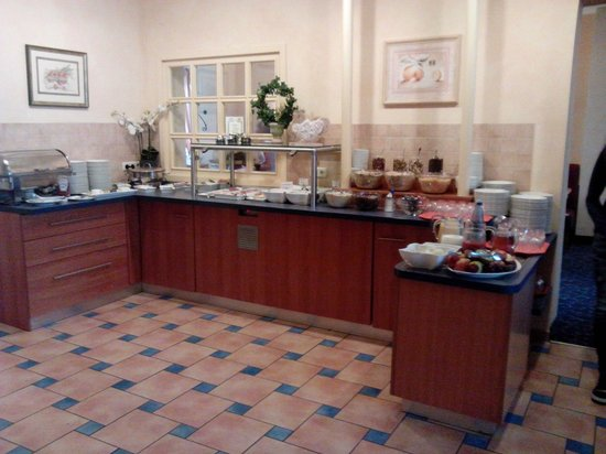 Excelsior Hotel Luebeck : Il buffet