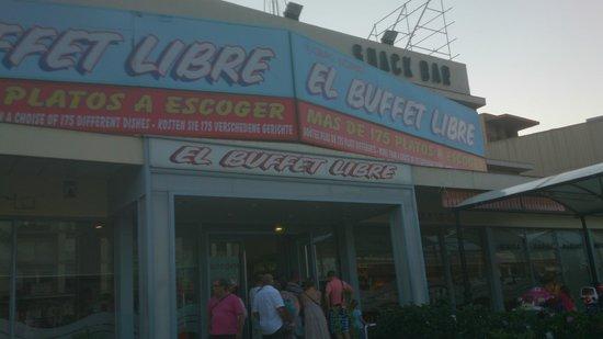El buffet libre sector aduana la jonquera restaurant for Restaurant la jonquera
