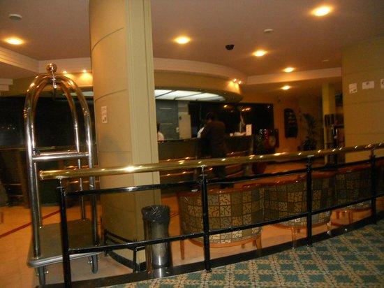 Sarmiento Palace Hotel: Recepção