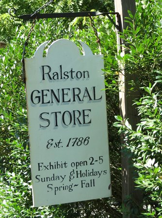 The Ralston General Store Museum: Sign