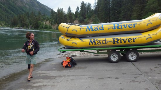 Mad River Boat Trips: Safely at the take out