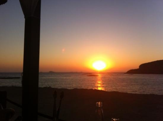 Can Mirador Ibiza: Sonnen untergang auf Ibiza