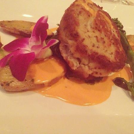 La Bergerie Restaurant : crab cake