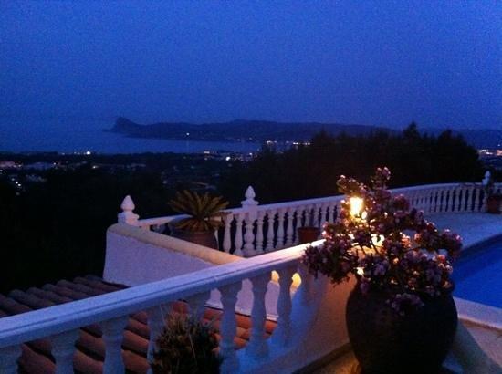 Can Mirador Ibiza: Can Mirador bei Nacht